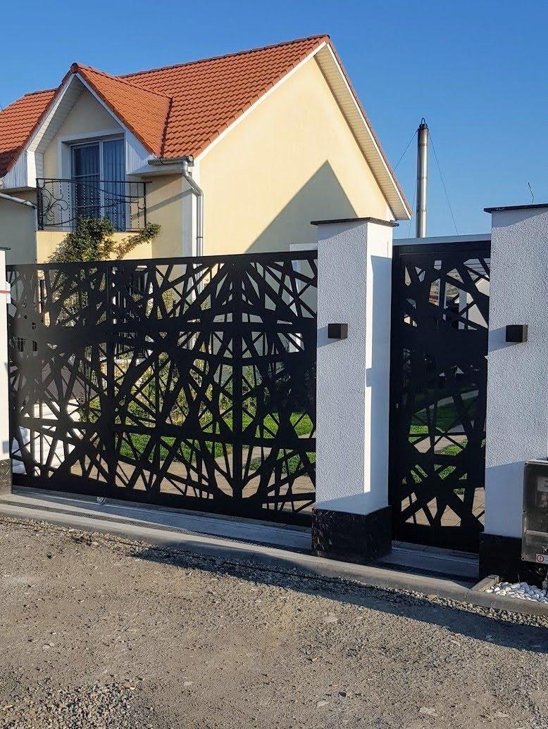 Porti Metalice Decupate Laser Gard Beton