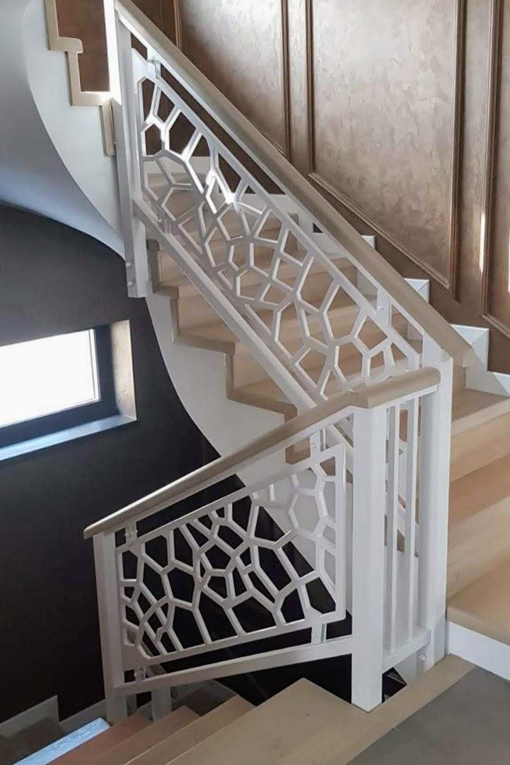 balustrada mdf scara interioara