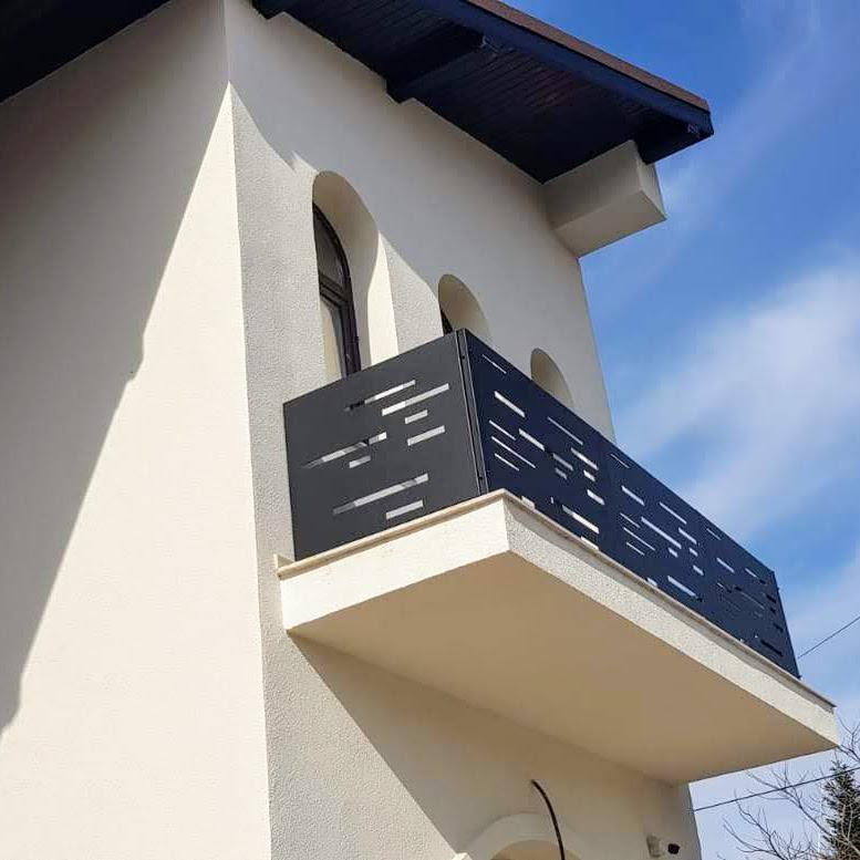balustrada metalica balcon