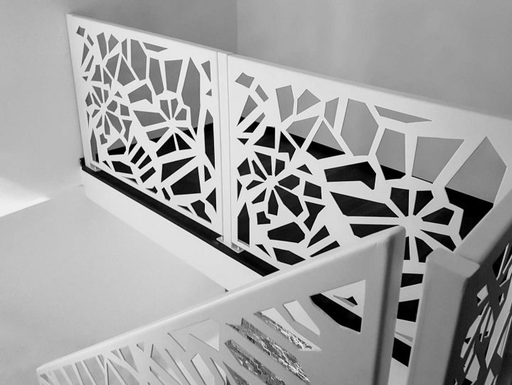 balustrada metalica design modern