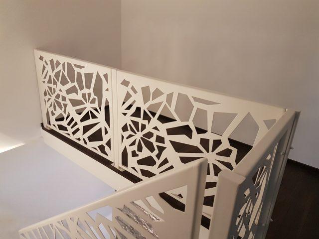 balustrada scara interioara design contemporan