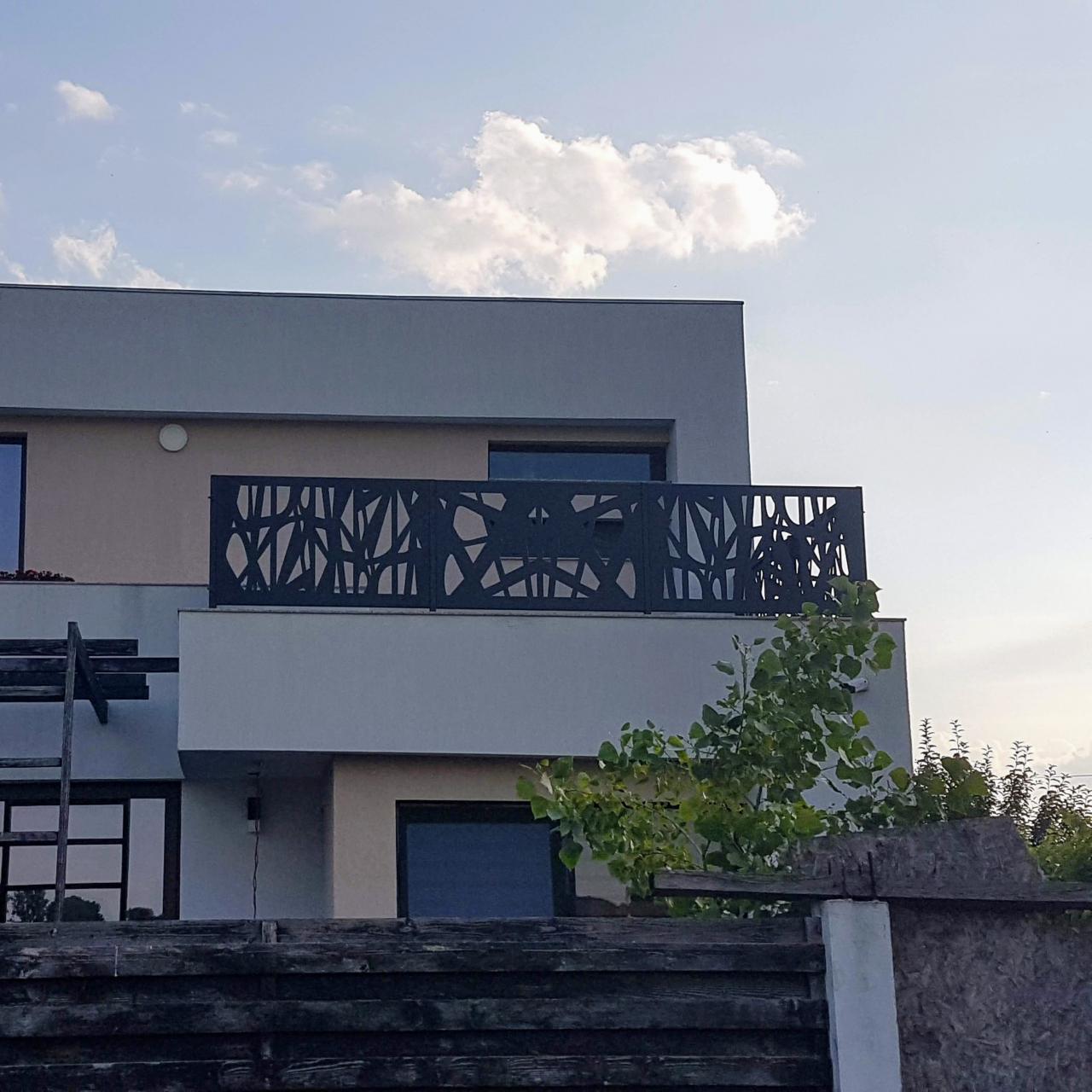 balustrada contemporana terasa balcon