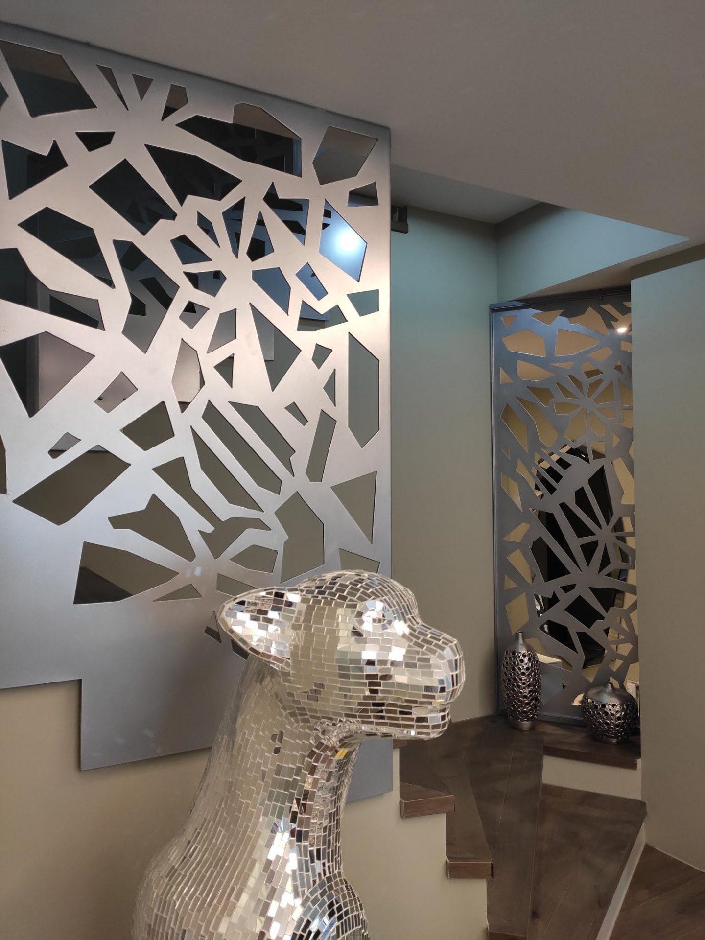 panouri decorative balustrada metalica
