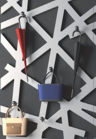 cuier hol design modern panou decorativ vopsit