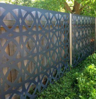 gard panouri traforate decorative bucuresti