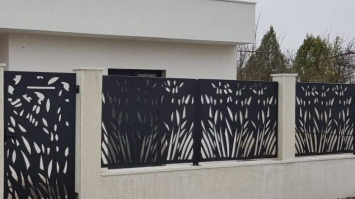 Gard decorativ traforat model Constanta