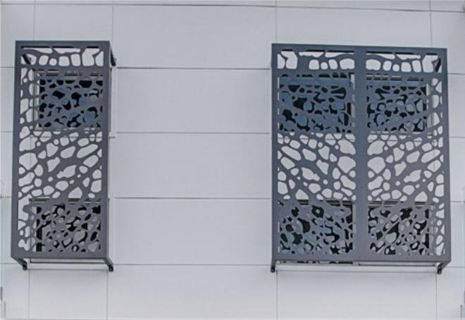 grilaj decorativ ferestre exterioare