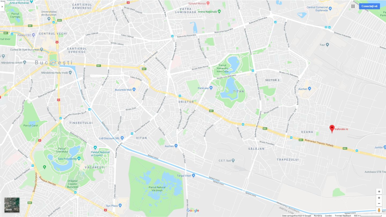 Harta Google Locatie Traforate Bucuresti Traforate Ro
