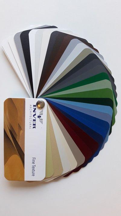 paletar culori vopsire electrostatica fin texturat