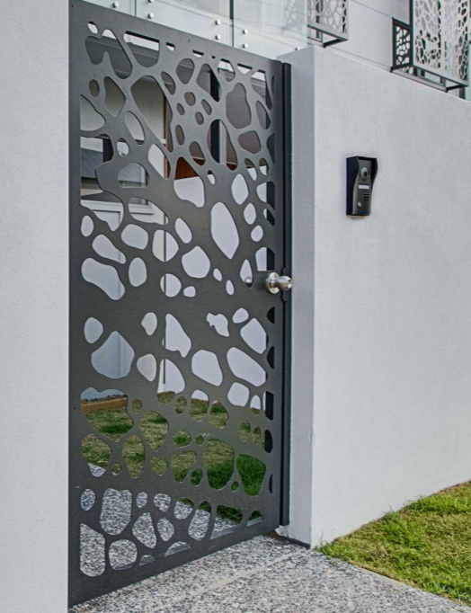 poarta moderna pietonala gard beton