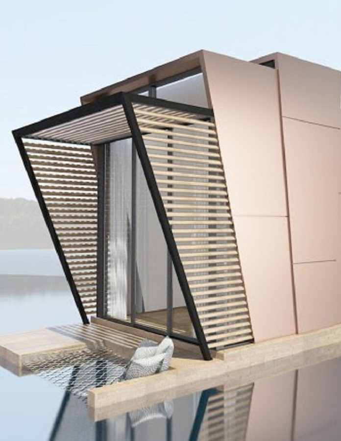 casa Tiny din module prefabricate