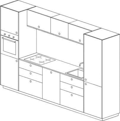 schita mobilier bucatarie ikea metod fronturi dulapuri